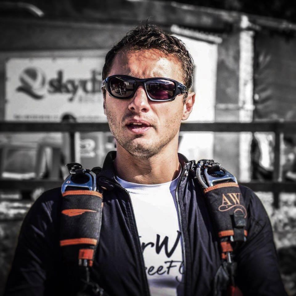 Greg CROZIER - Parachutisme sportif